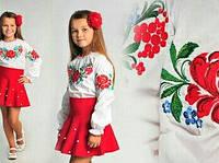 """Вышиванка для девочки """"Казкова квітка"""", фото 1"""