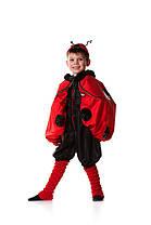 Божья коровка (110 р.). Карнавальный костюм для мальчика напрокат