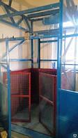 Складской подъёмник-лифт электрический г/п 500 кг. Проектирование, Изготовление, Монтаж под ключ.