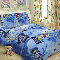 Комплект детского постельного белья  Смартфон, ткань поплин