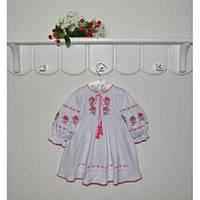 Платье вышиванка детское Розы Размер 86, 92 см