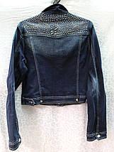 Женский пиджак с декором из страз, фото 3