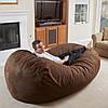 """Диван кровать""""Ruf"""" коричневы , бескаркасный диван, диван раскладной,маленький диван,диван трансформер."""