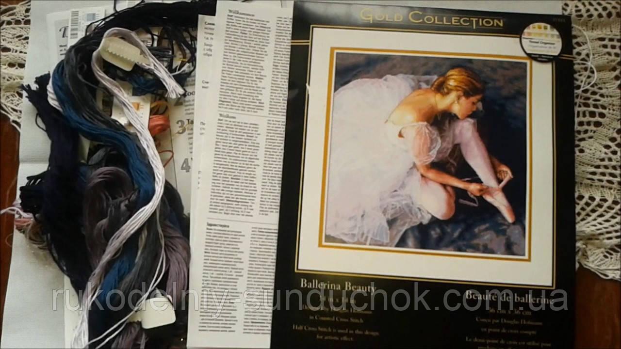 Набор для вышивания Dimensions 35181 Прекрасная балерина Ballerina Beauty