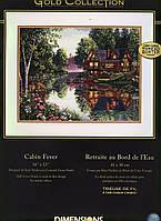 Набор для вышивания Dimensions 35183 Уютный коттедж Cabin Fever