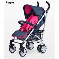 Коляска детская трость Caretero Moby - purple