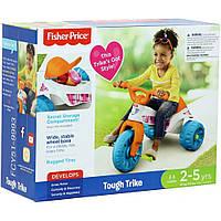 Трехколесный велосипед детский Fisher-Price Tough Trike
