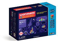 Магнитный конструктор Magformers Школьный набор, 180 эл.
