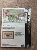 Набор для вышивания Dimensions 35204 Цветы Парижа  Flowers of Paris