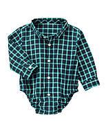 Детская рубашка-боди для мальчика 18-24 месяца