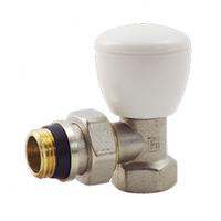 Вентиль радиаторный регулирующий угловой 1/2 с антипроточкой
