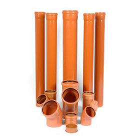 Труба пвх для наружной канализации evci