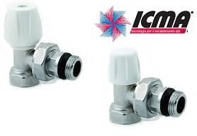 Краны для подключения радиаторов icma