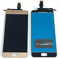 Оригинальный дисплей (модуль) + тачскрин (сенсор) для Asus Zenfone 3s Max ZC521TL (золотой цвет)