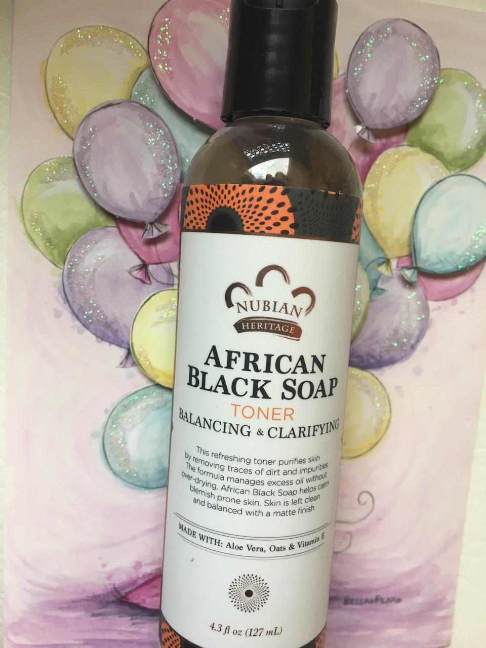 Тоник для лица Nubian Heritage African Black Soap Toner