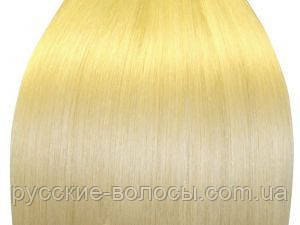 Волосы на капсулах блонд