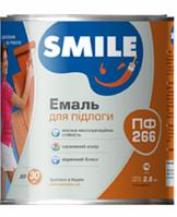 Емаль ПФ-266 жовто-коричнева 2,8 кг Smile