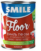 Емаль ПФ-266 горіх (жовто-коричнева) 2,8 кг Smile