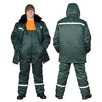 Зимний костюм с о светоотражающими полосами