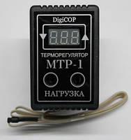 Цифровой регулятор температуры (терморегулятор) однопороговый  мтр-1 (розеточный) на 10 а и 16 а