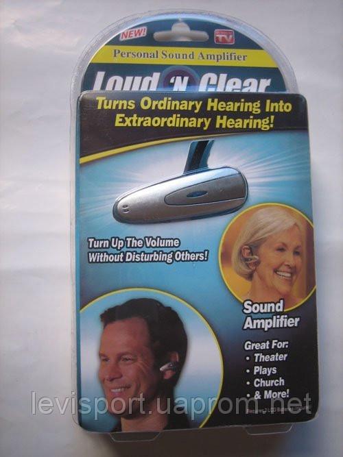 Слуховий апарат Loud-n-Clear - підсилювач слуху