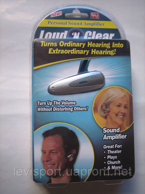 Слуховой аппарат Loud-n-Clear - усилитель слуха