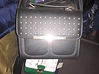 Женская сумка модного дизайна черного цвета