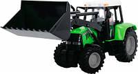 Трактор с фигуркой водителя, 25 см (салатовый), Dickie Toys (373 5002-3)