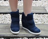 Замшевые ботинки с пряжками, фото 1