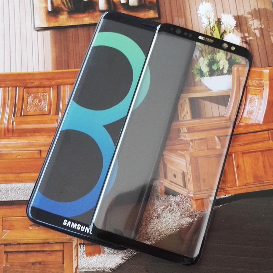 Защитное cтекло 3D для Samsung Galaxy S8 Plus (Только белый цвет)
