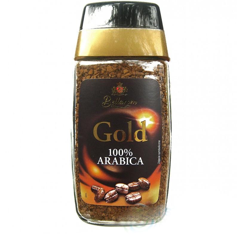 Голд Беларум Gold Bellarom растворимый кофе из зёрен арабики 200 г