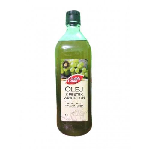 Масло из виноградных косточек Sottile Gusto, 1л