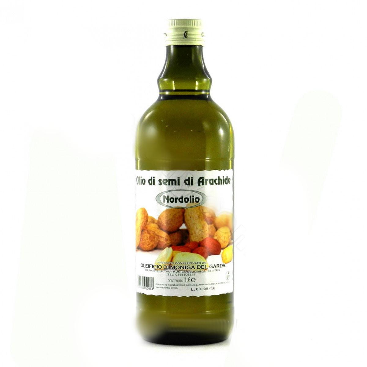 Olio di semi di Arachide, Oleificio di Moniga del Garda, 1 л - Камора - магазин вкусных продуктов в Днепре