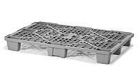 Легкий пластиковый поддон на ножках 1200х800х140 мм (02.102.91.Q) серый