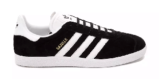 Мужские кроссовки Adidas Gazelle OG черные