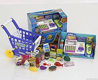 """Набор для детской игры """"Мой магазин"""" 7562 B ,подсветка, звук, на батарейках"""