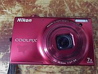 Фотоаппарат Nikon Coolpix S6100 Black