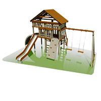 """""""Домик"""" детская площадка из натуральной древесины"""