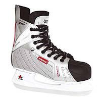Коньки хоккейные Tempish Vancouver серебристые, размеры 37, 40, 41
