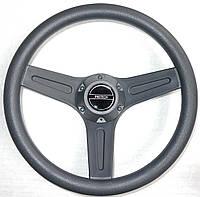 Рулевое колесо PRETECH 32см серое / черное