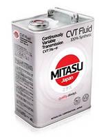 Масло трансмиссионное MITASU CVT 100% Synthetic  4лит