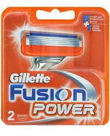 Лезвия Бритвы Кассеты для Станка Gillette Fusion Power-2