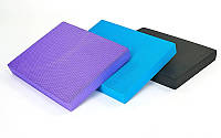 Мат балансировочный (платформа балансировочная) Balance Cube 7737: 3 цвета, размер 48х38х5,5см