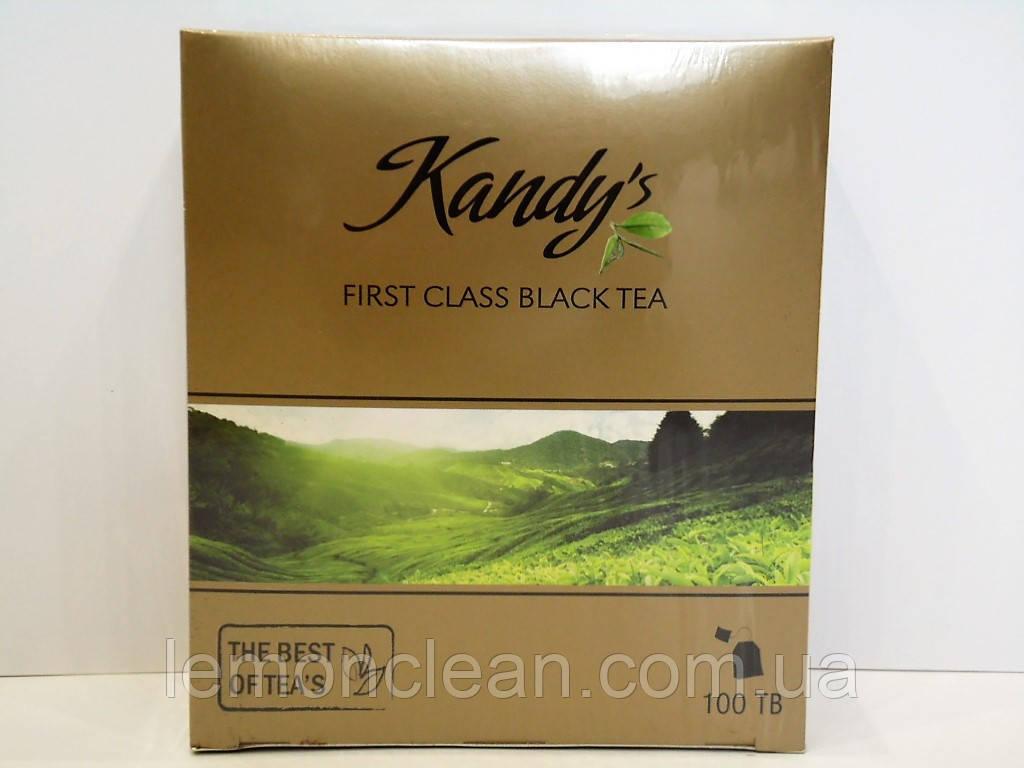 Чай черный Kandy's First Class Black Tea 100 пакетиков