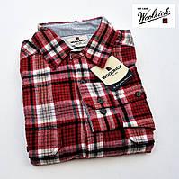 Рубашка мужская фланелевая Woolrich® (США) (XL)/100% хлопок c трикотажной подкладкой /Оригинал из США