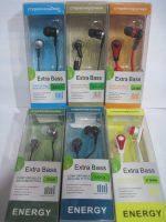 Вакуумные наушники для телефона и плеера ENERGY Extra Bass