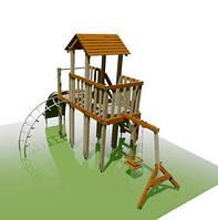 """Детская игровая площадка с башней """"Черепашка"""" для улицы"""