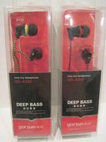 Вакуумные наушники для телефона и плеера Gorsun Deep Sea GS-340 (тканевый шнур)