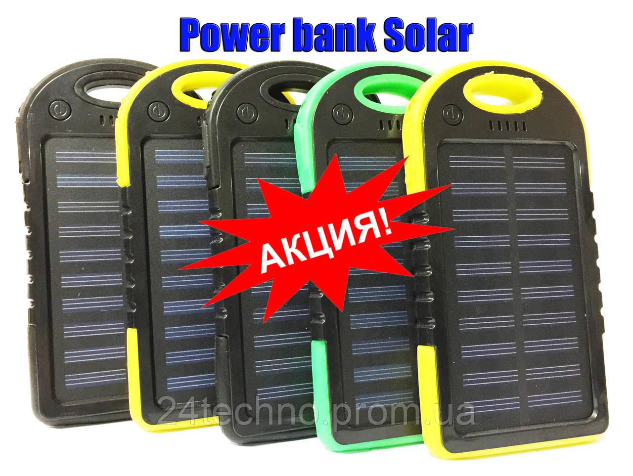 Зарядка от Солнца! Power Bank Solar 10000mAh