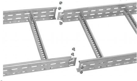 Лоток лестничный 80х300х3000, 1,2 мм IEK (LLK1-080-300)